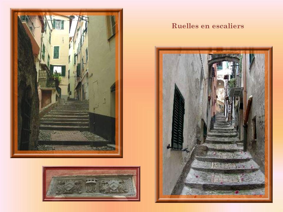Ruelles en escaliers