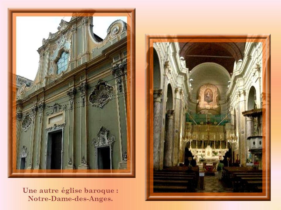 Une autre église baroque : Notre-Dame-des-Anges.