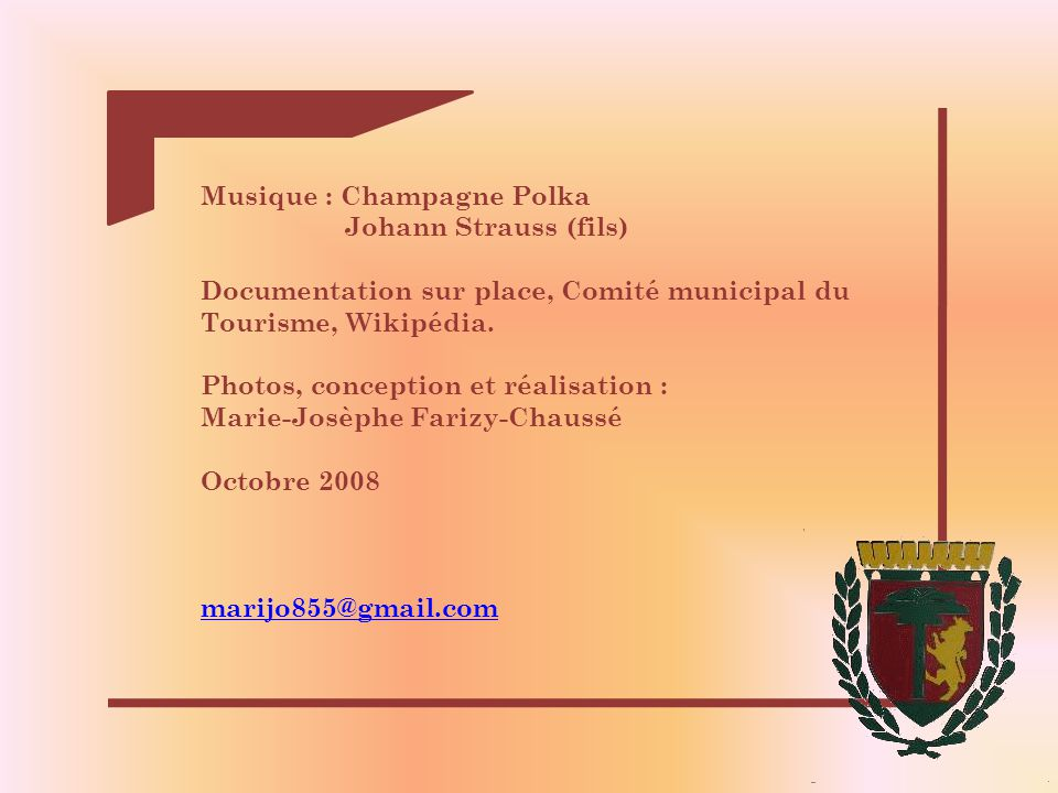 Musique : Champagne Polka