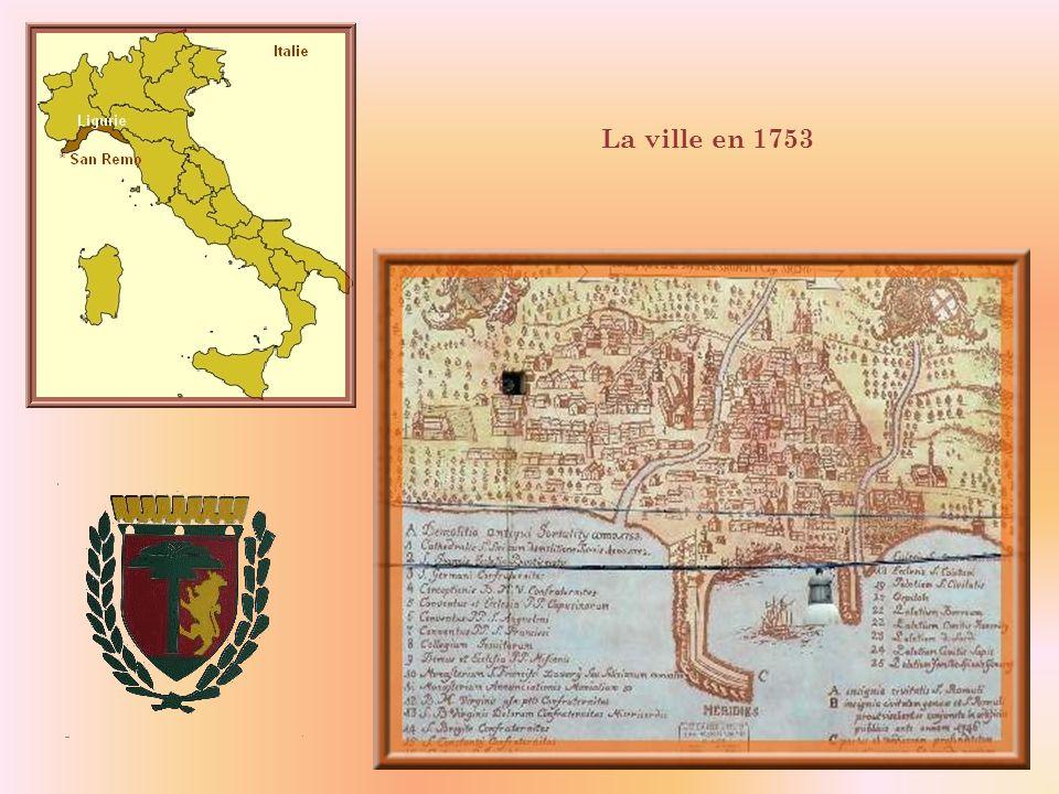 La ville en 1753