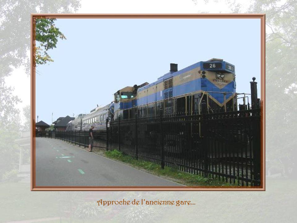 Approche de l'ancienne gare…