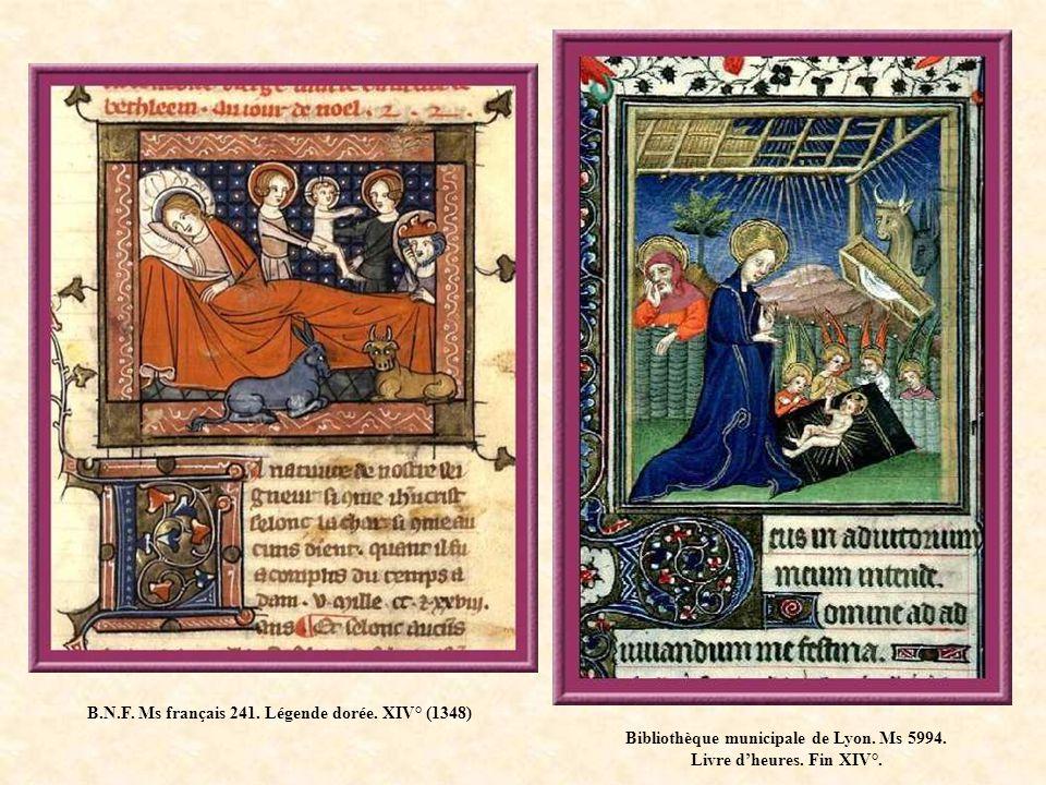 B.N.F. Ms français 241. Légende dorée. XIV° (1348)