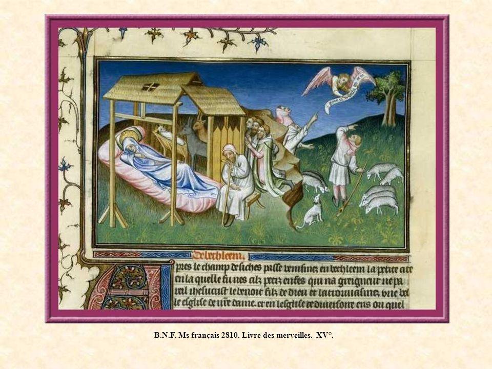 B.N.F. Ms français 2810. Livre des merveilles. XV°.