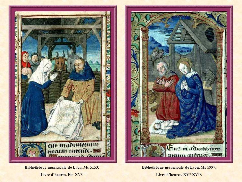 Bibliothèque municipale de Lyon. Ms 5153. Livre d'heures. Fin XV°.