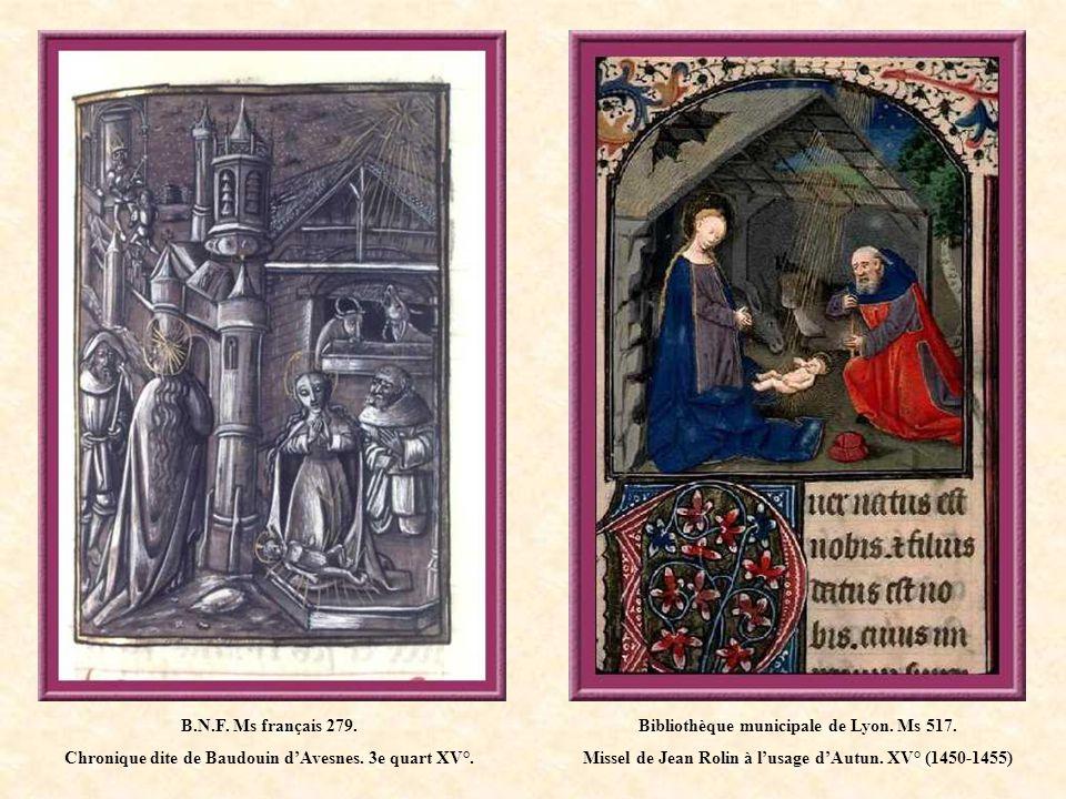 Chronique dite de Baudouin d'Avesnes. 3e quart XV°.