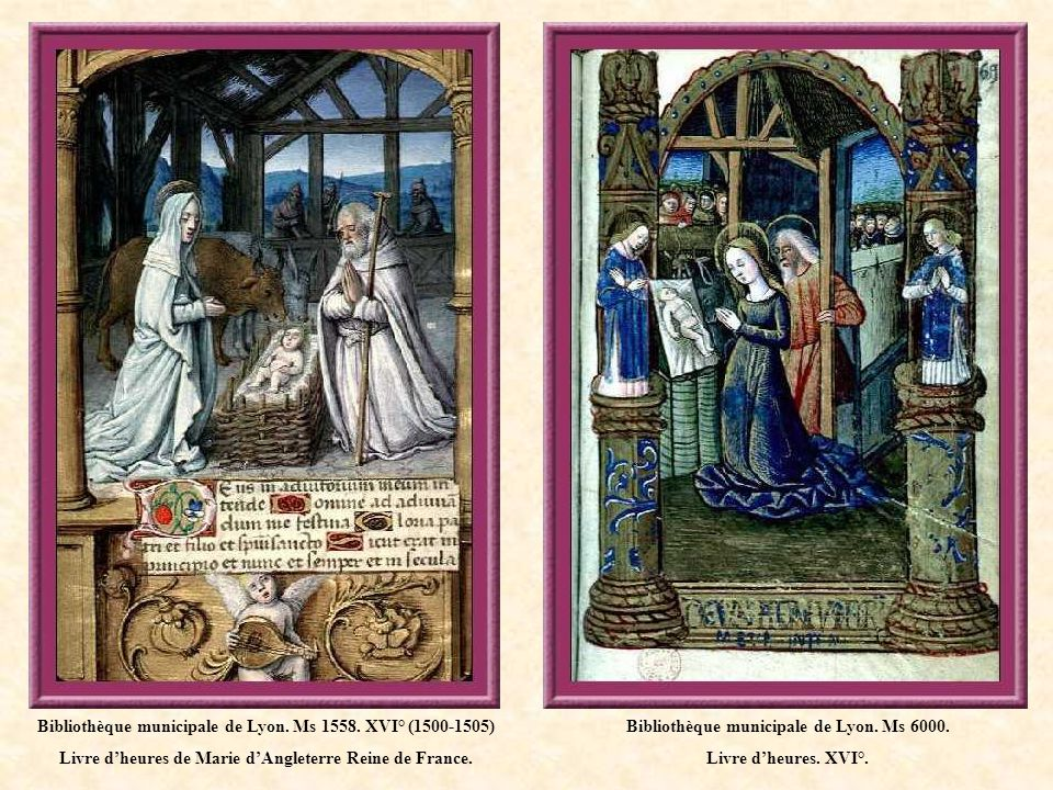 Bibliothèque municipale de Lyon. Ms 1558. XVI° (1500-1505)