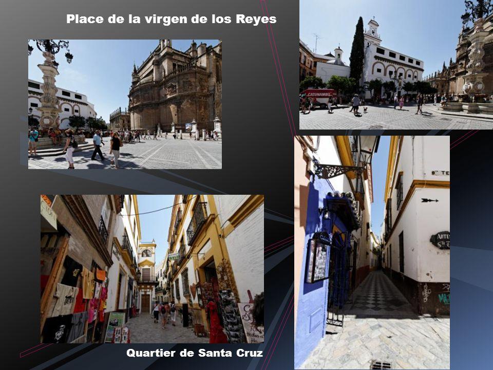 Place de la virgen de los Reyes