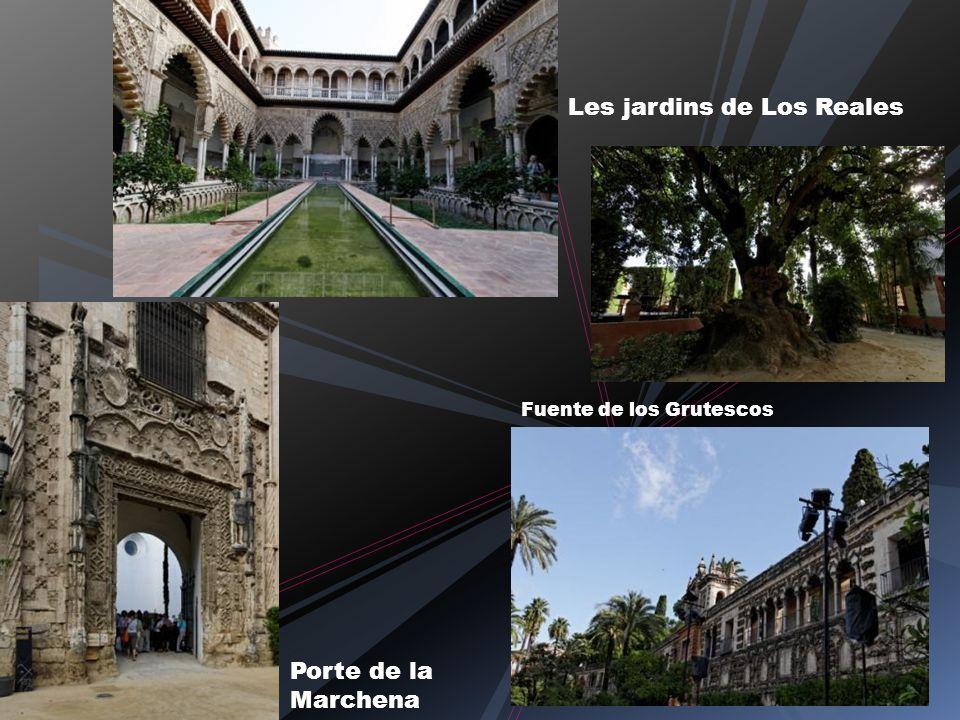 Les jardins de Los Reales