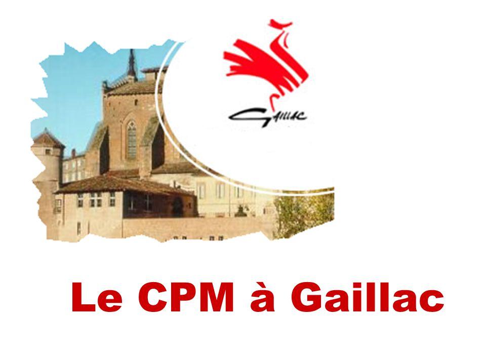 Le CPM à Gaillac