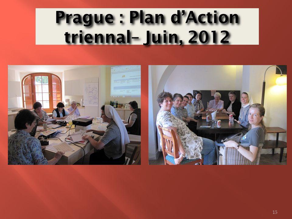 Prague : Plan d'Action triennal– Juin, 2012