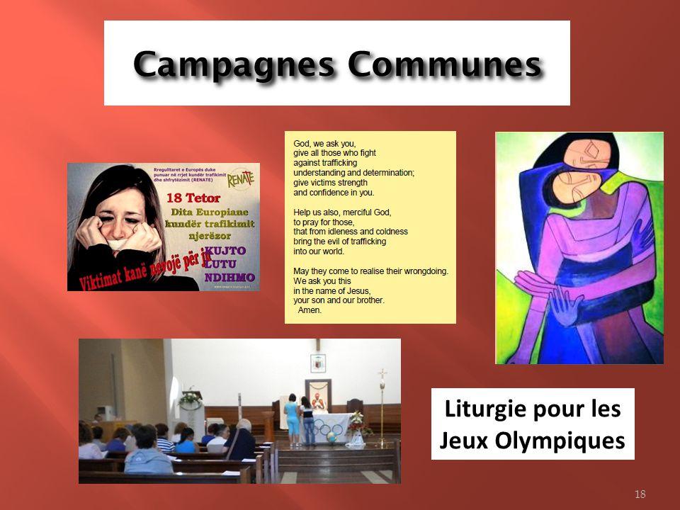 Liturgie pour les Jeux Olympiques