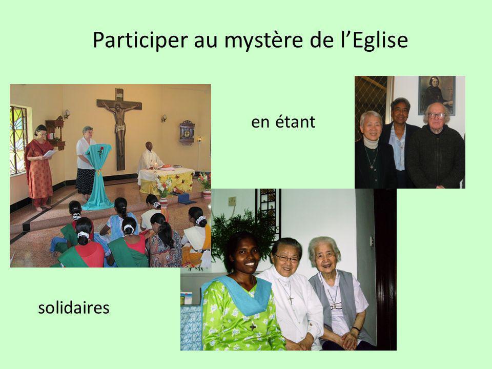 Participer au mystère de l'Eglise