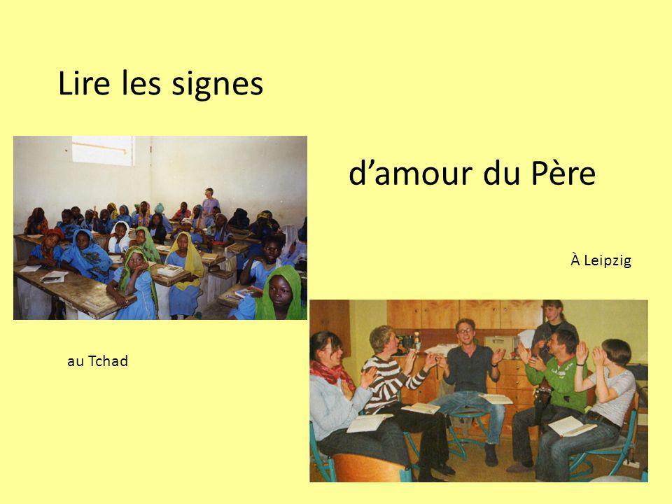 Lire les signes d'amour du Père À Leipzig au Tchad