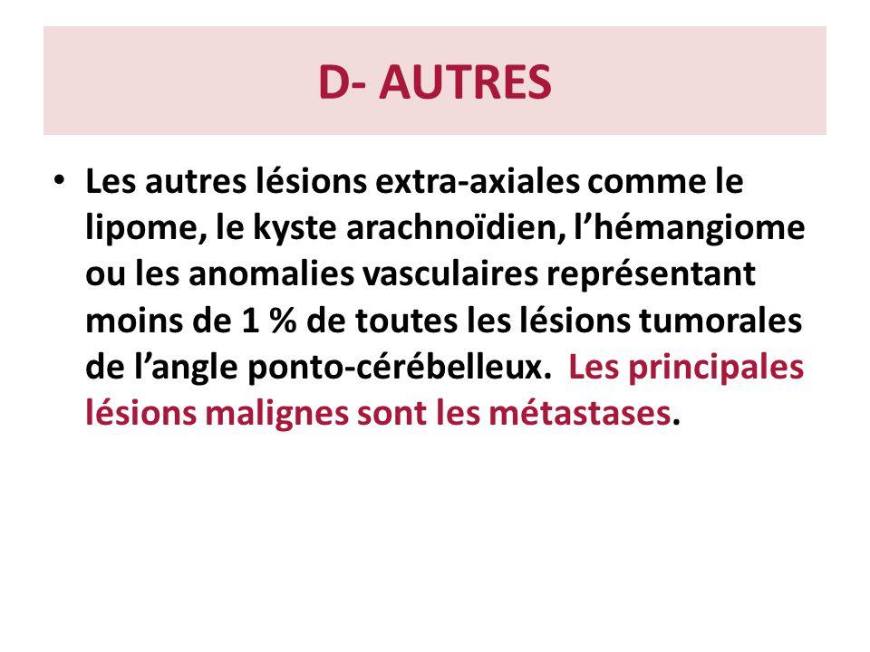 D- AUTRES