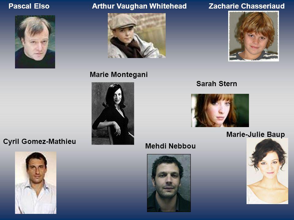Pascal Elso Arthur Vaughan Whitehead. Zacharie Chasseriaud. Marie Montegani. Sarah Stern. Marie-Julie Baup.