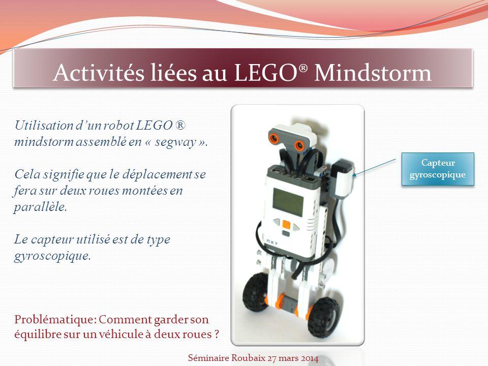 Activités liées au LEGO® Mindstorm