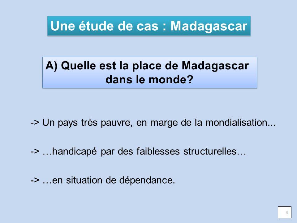 Une étude de cas : Madagascar