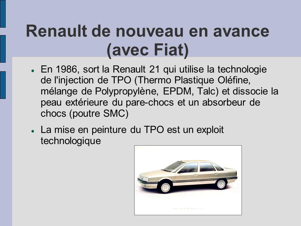 Renault de nouveau en avance (avec Fiat)
