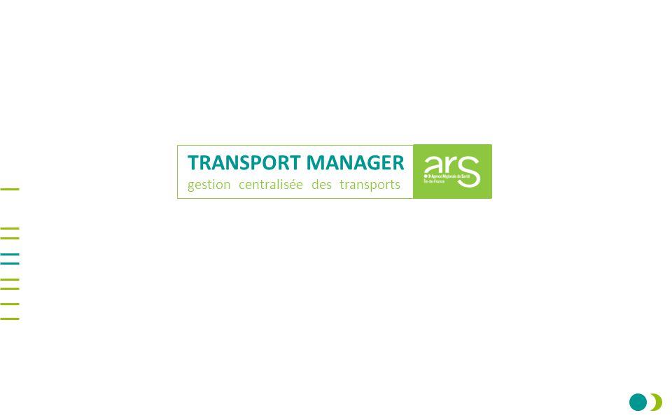 TRANSPORT MANAGER gestion centralisée des transports