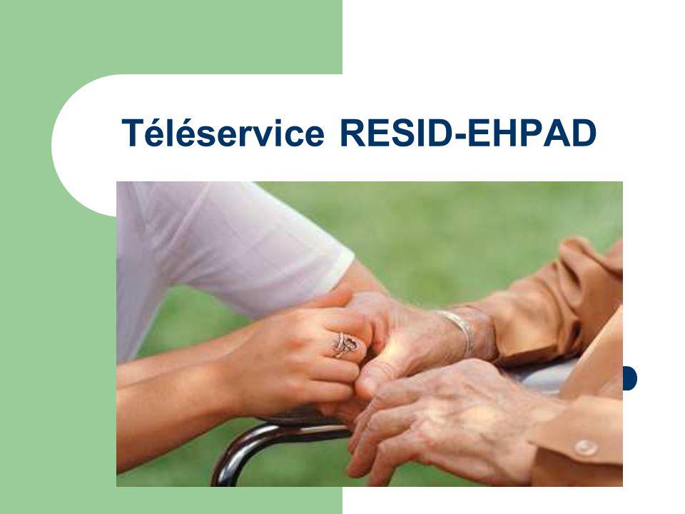 Téléservice RESID-EHPAD