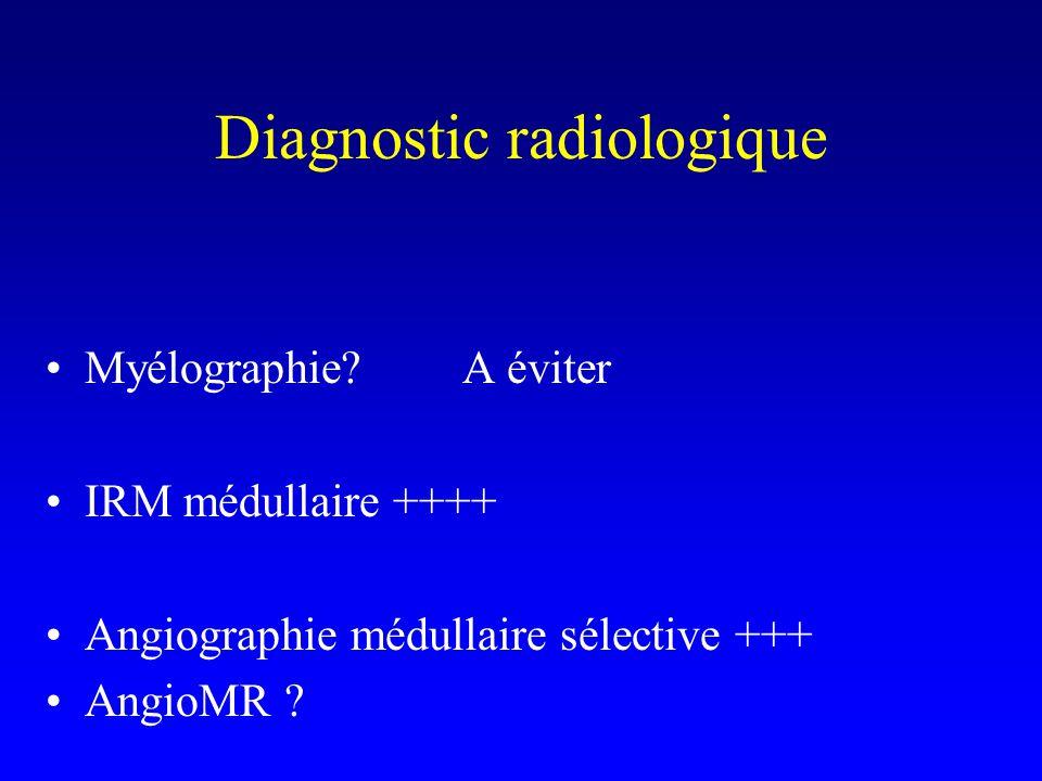 Diagnostic radiologique