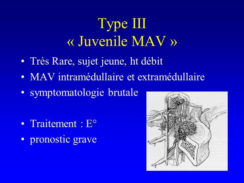 Type III « Juvenile MAV »