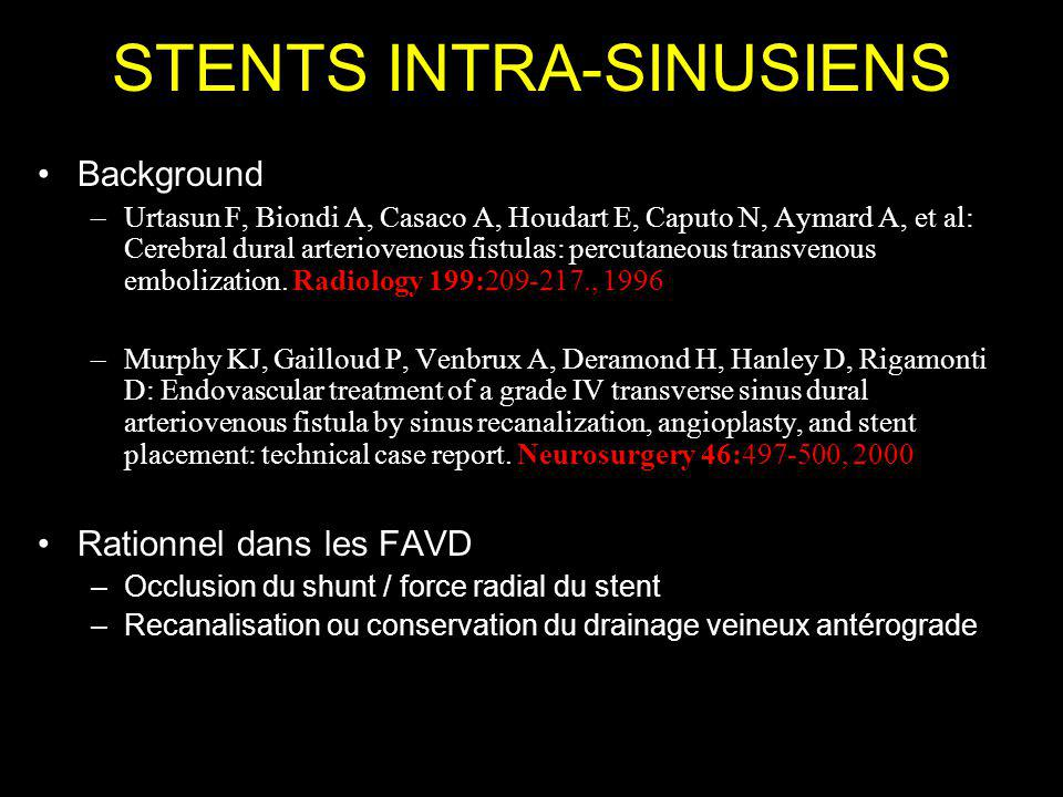 STENTS INTRA-SINUSIENS