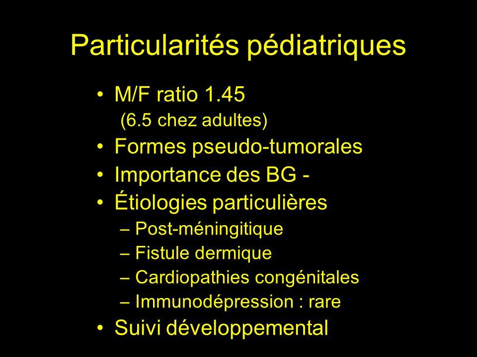 Particularités pédiatriques
