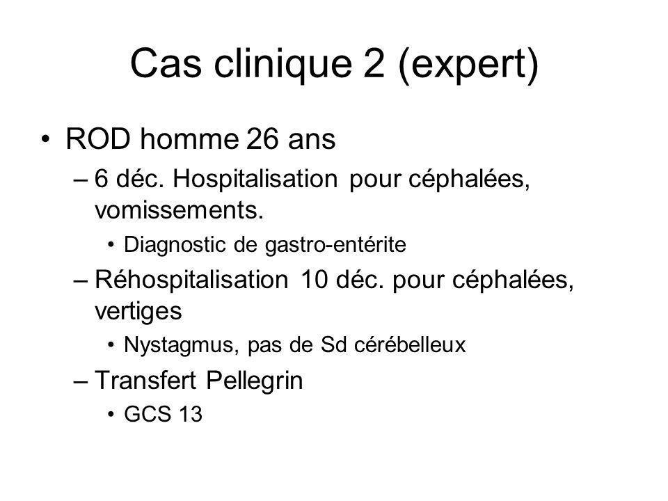 Cas clinique 2 (expert) ROD homme 26 ans