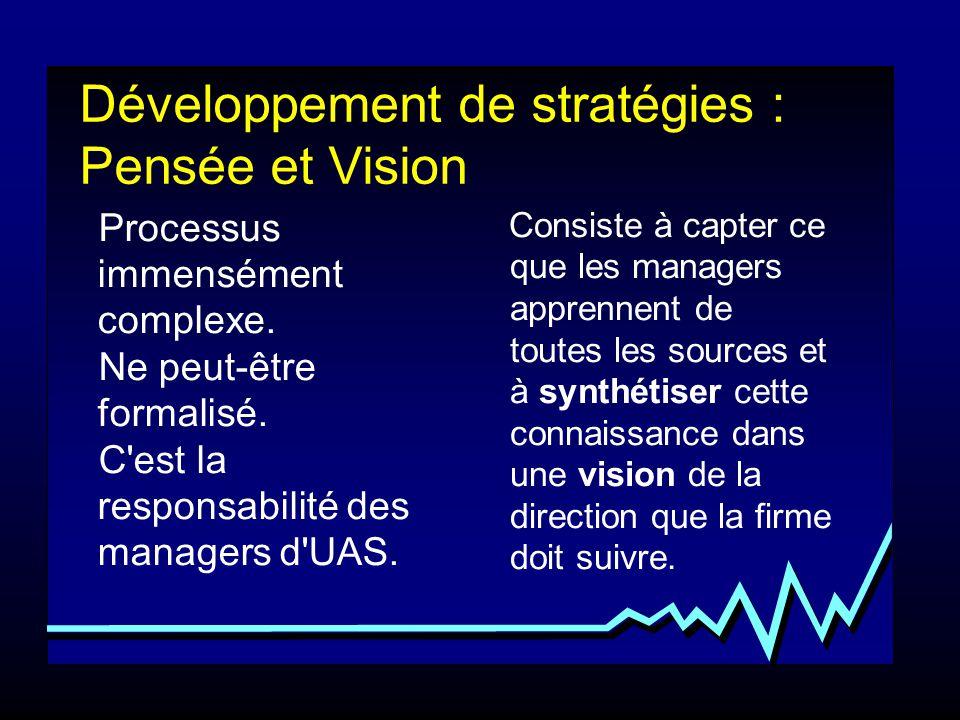 Développement de stratégies : Pensée et Vision
