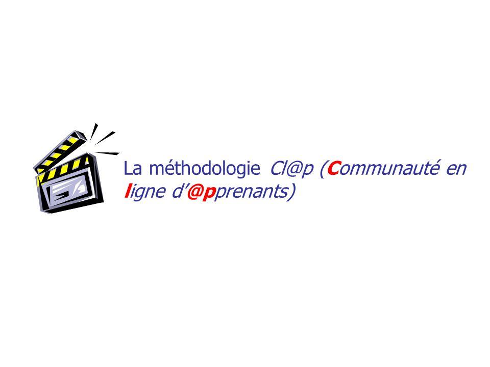 La méthodologie Cl@p (Communauté en ligne d'@pprenants)