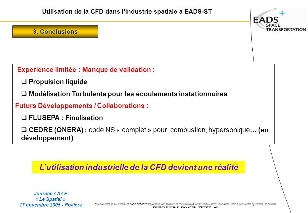 L'utilisation industrielle de la CFD devient une réalité