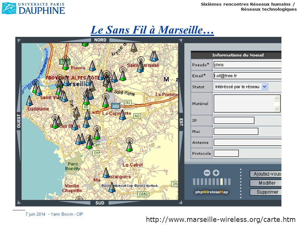 Le Sans Fil à Marseille…