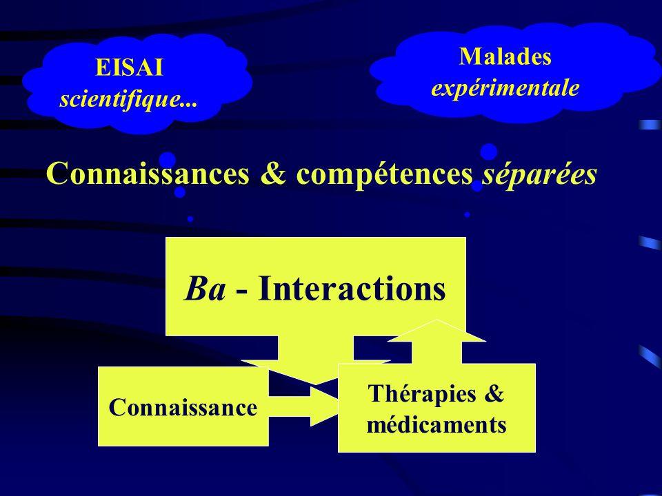 Connaissances & compétences séparées