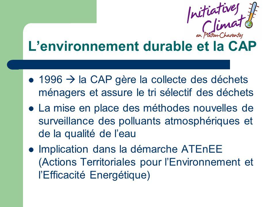 L'environnement durable et la CAP
