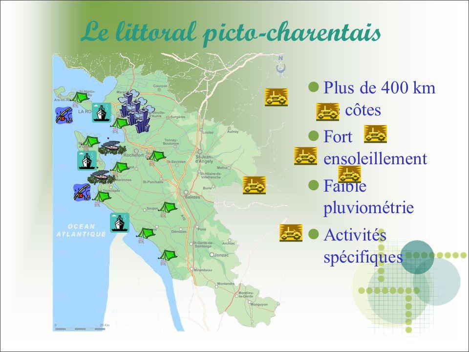 Le littoral picto-charentais