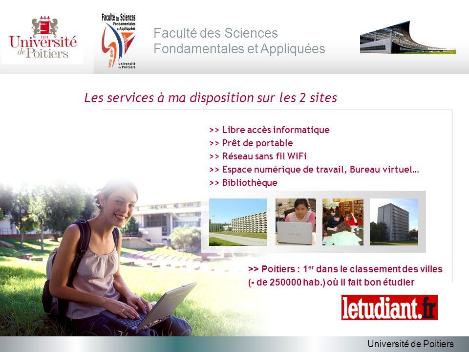 lUniversit de Poitiers ppt tlcharger