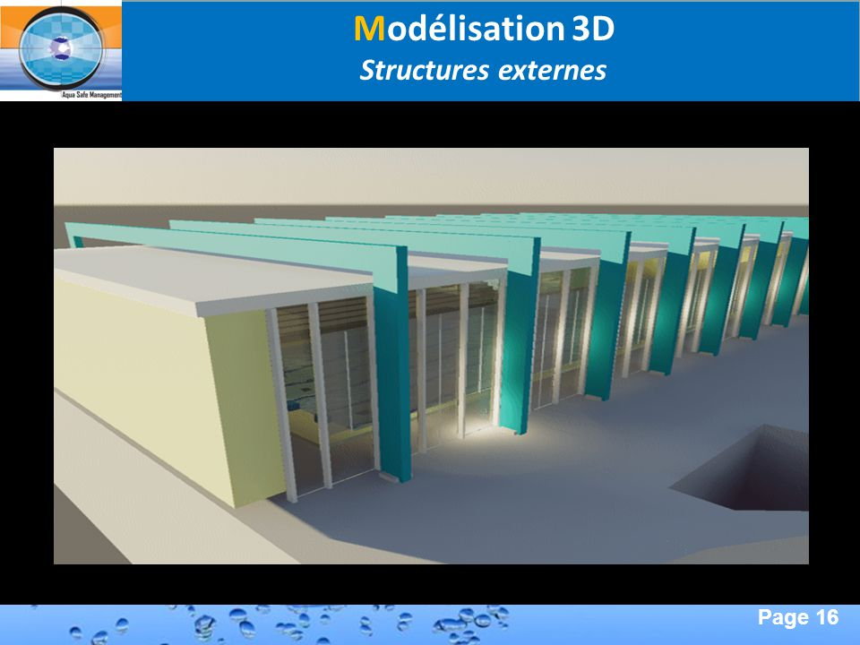 Modélisation 3D Structures externes Second Page :
