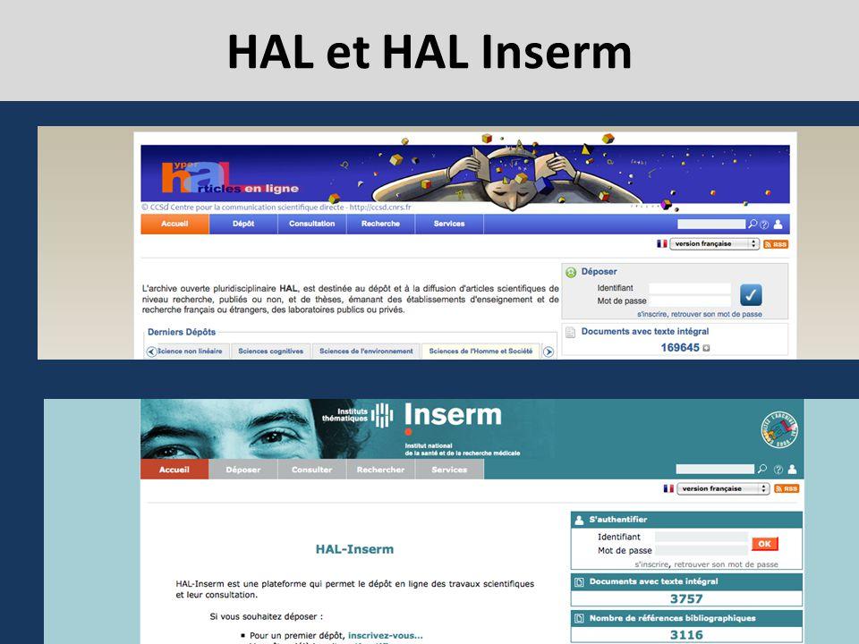 HAL et HAL Inserm