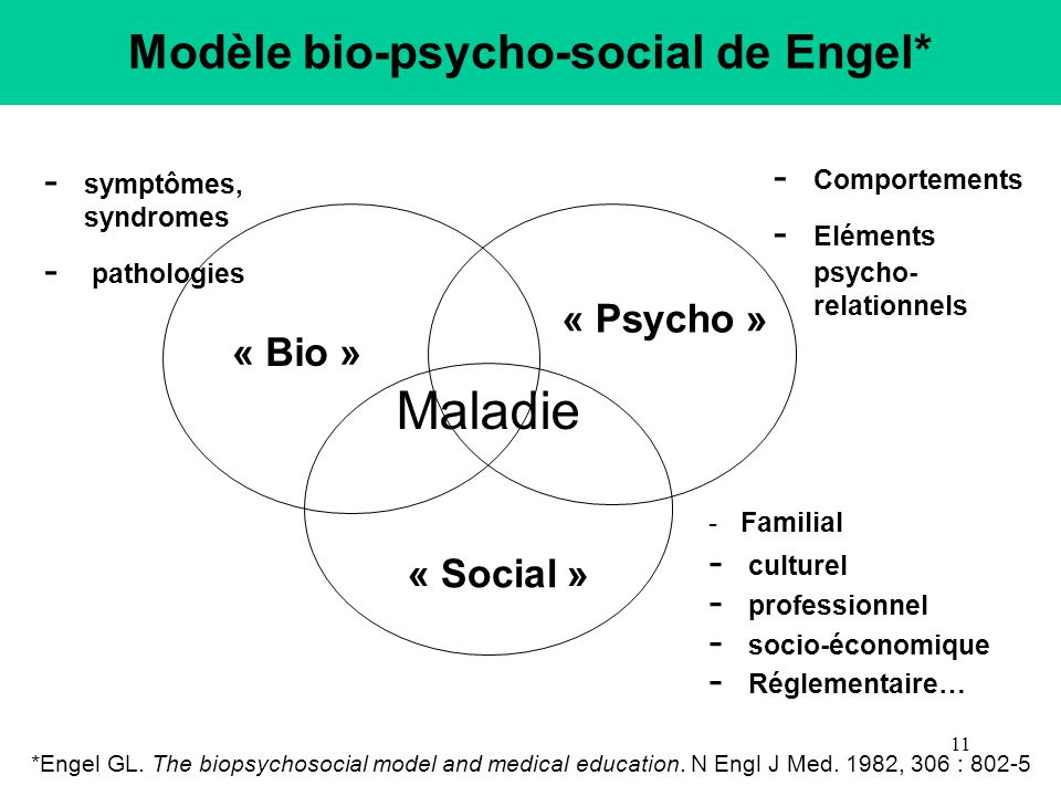 application of the biopsychosocial model to Biopsychosocial approach to psychological trauma and possible health consequences the biopsychosocial model seems to be the most adequate for the study.