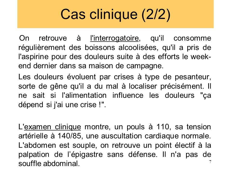 Cas clinique (2/2)