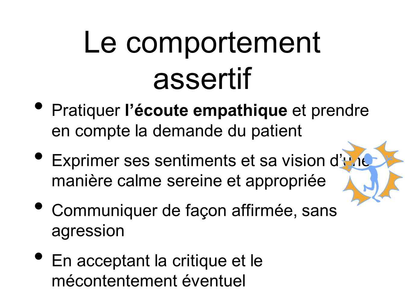 Le comportement assertif