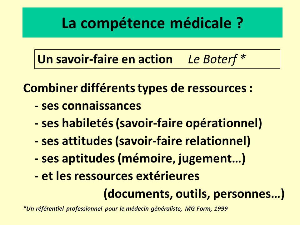 La compétence médicale
