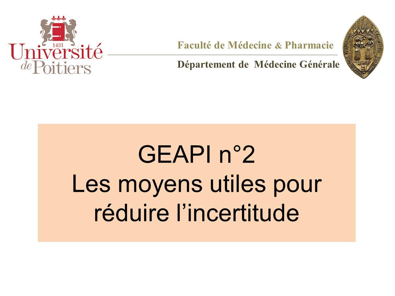 GEAPI n°2 Les moyens utiles pour réduire l'incertitude