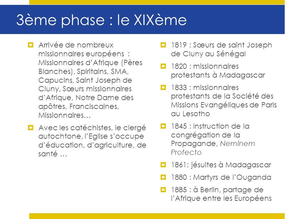 3ème phase : le XIXème