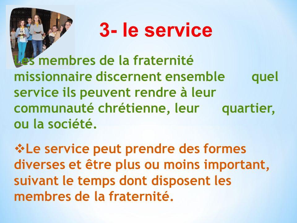 3- le service