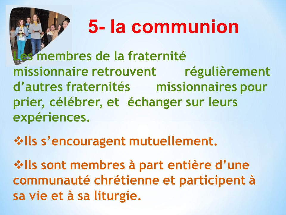 5- la communion