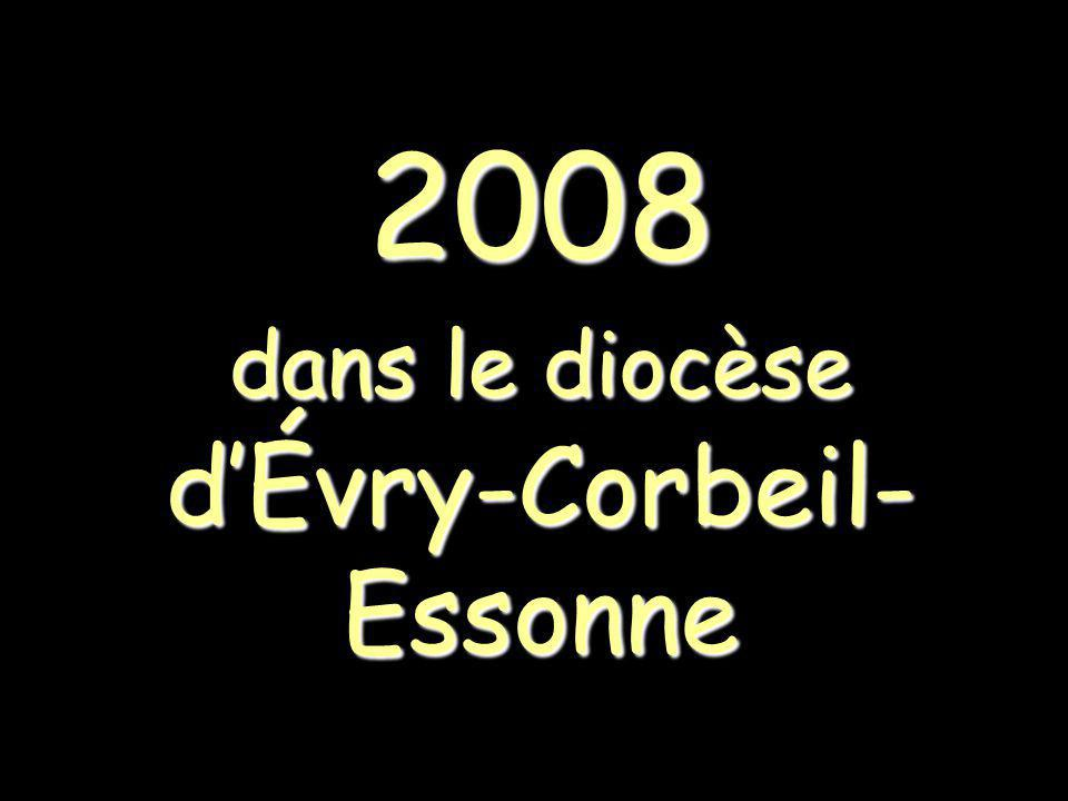 2008 dans le diocèse d'Évry-Corbeil-Essonne