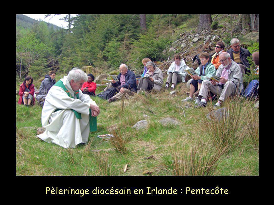Pèlerinage diocésain en Irlande : Pentecôte