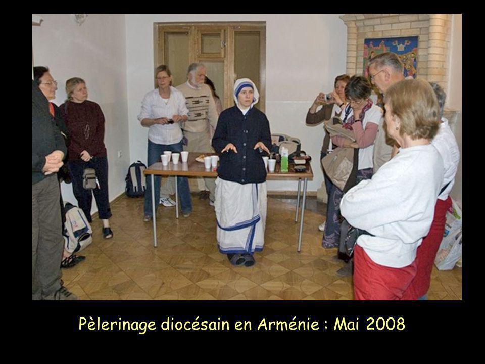 Pèlerinage diocésain en Arménie : Mai 2008